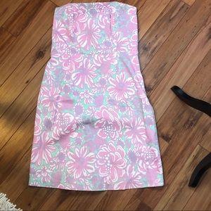 Tibi strapless dress size 10
